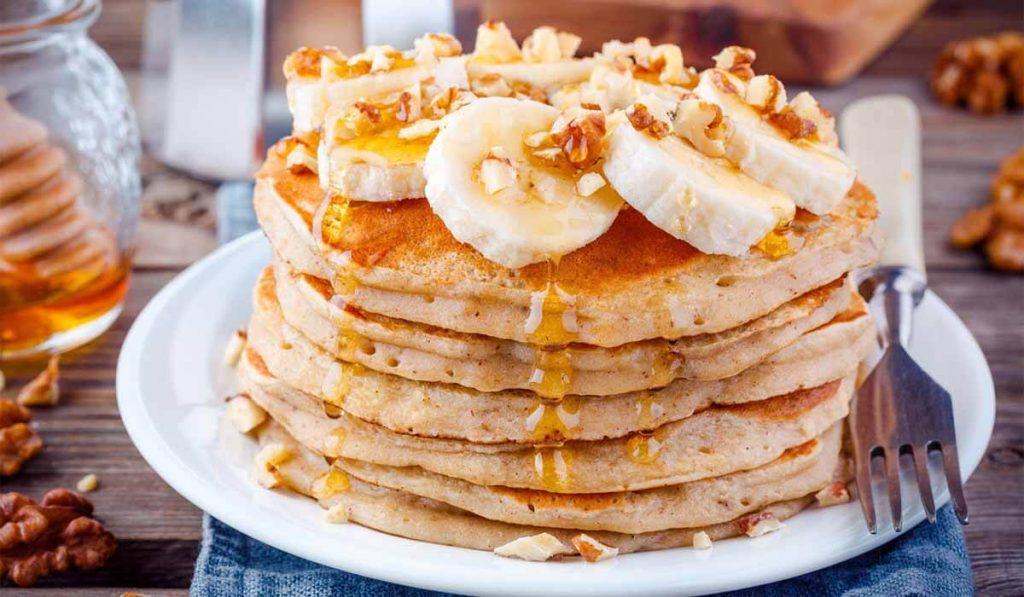 por qué comer plátano maduro receta pancakes