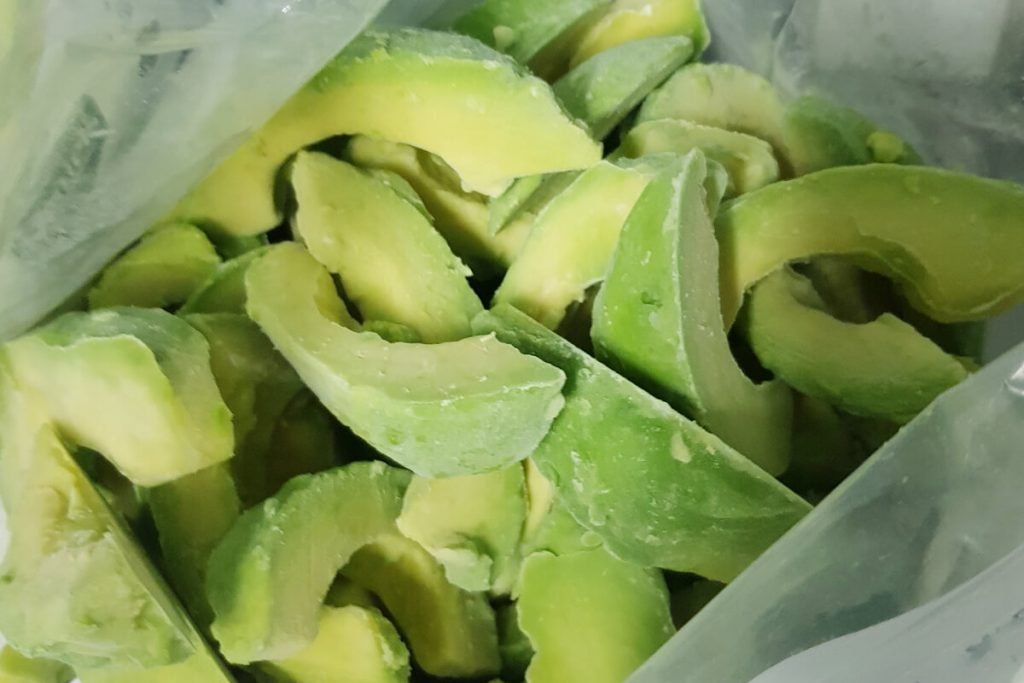 slices avocado hass frozen fqf