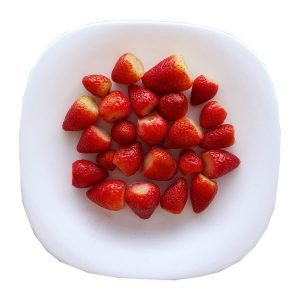 strawberries fresh quality freeze defrosted fqf fresa