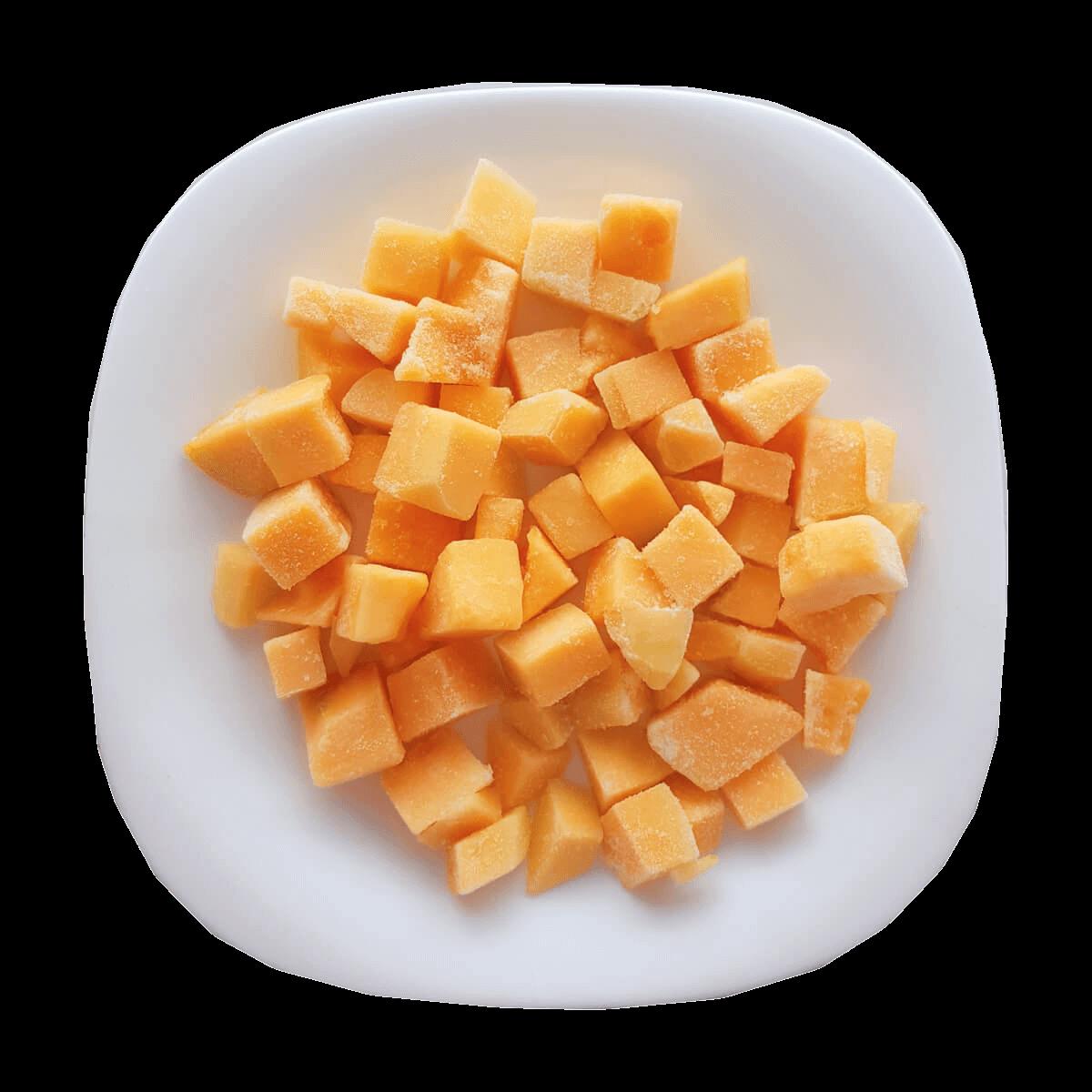 caribbean melon plate frozen costa rica