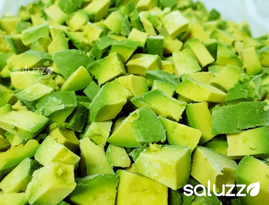 aguacate congelado frozen avocado hass costa rica chunks