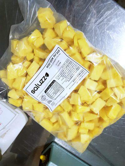 piña congelada costa rica chunks exportaciones saluzzo